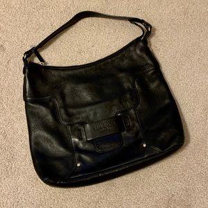 Large Black Leather Kate Spade Hobo Bag Purse